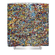 String Theory Shower Curtain by Dominic Piperata