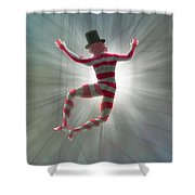 Strings Shower Curtain