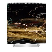 Strings Of Light Shower Curtain