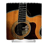 Strings Of My Heart... Shower Curtain