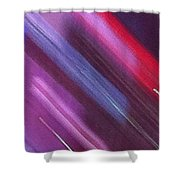 Stripes Abstract Shower Curtain