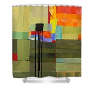 Stripes And Dips 1 Shower Curtain