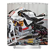 Stripped Down Shower Curtain