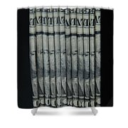 Stripper Stack Shower Curtain