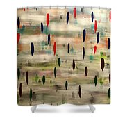 Stroke Of Color Shower Curtain