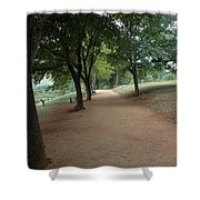 Stroll On Mulberry Row Monticello Shower Curtain