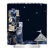 Strolling Along The Seine At 3 Am Shower Curtain