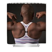 Strong Black Woman Shower Curtain