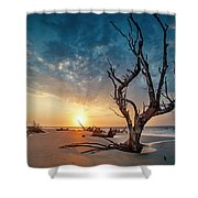 Strong Tree Shower Curtain