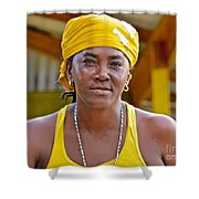 Strong Woman Shower Curtain