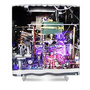 Strontium Atomic Clock Shower Curtain