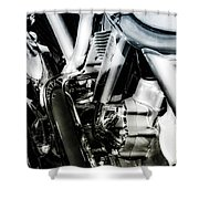 Structure 1487 H_2 Shower Curtain