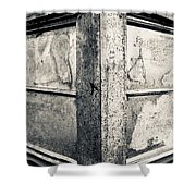 Structure - I Shower Curtain