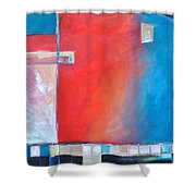 Structures And Solitude Revisited Shower Curtain