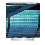 Structures East 2 Shower Curtain