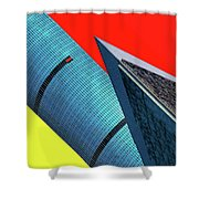 Structures Tilted Shower Curtain