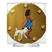 Strut Into This Light Shower Curtain