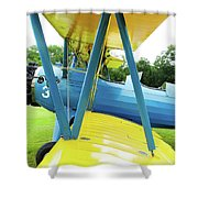 Struts And Wires  Shower Curtain