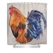 Strutting Rooster Shower Curtain