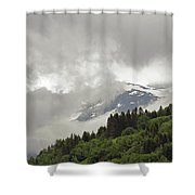 Stryn Lake And Jostedalsbreen National Park Shower Curtain