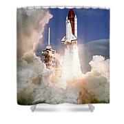 Sts-27, Space Shuttle Atlantis Launch Shower Curtain