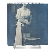 Studio Portrait Shower Curtain