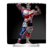 Studio Man Render 16 Shower Curtain