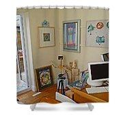 Studio Still Shower Curtain
