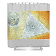 Study For The Voyage Of The Emeralda Shower Curtain