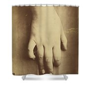 Study Of A Hand Shower Curtain