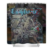 Study To The Vogue Esquire  Shower Curtain