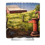 Stuff Of Life  Shower Curtain