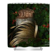 Stump And Frond Shower Curtain