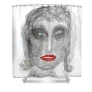Stunned Shower Curtain