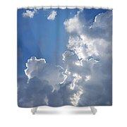 Stunning Clouds  Shower Curtain