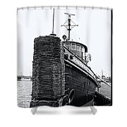 Sturgeon Bay Tug Boat Shower Curtain