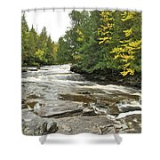 Sturgeon River Shower Curtain