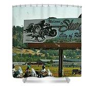 Sturgis City Of Riders Shower Curtain