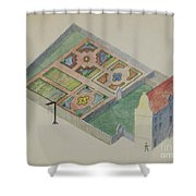 Stuyvesant's Great House Shower Curtain