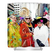 Style Knows No Age Shower Curtain