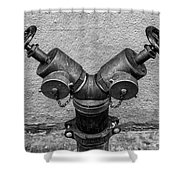 Stylish Stand Pipe Shower Curtain