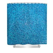 Su Gaia Rain  Shower Curtain