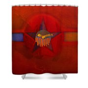 Sub Decal Shower Curtain