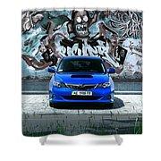 Subaru Shower Curtain