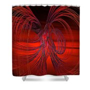 Subatomic Shower Curtain