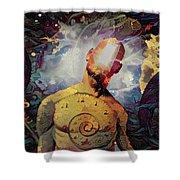 Subconsciousness Shower Curtain