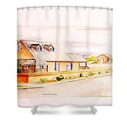 Subdivison Rendering Shower Curtain