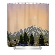Sublime Sierra Light Shower Curtain