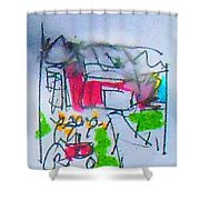 Sublime Storm Shower Curtain