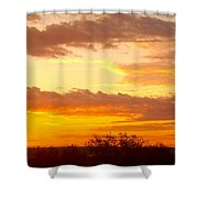 Sublime Sunrise Shower Curtain